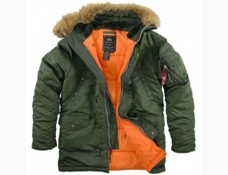 Куртка Аляска Alpha Industries N-3B, цвет Olive