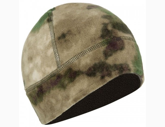 Флисовая шапка мох