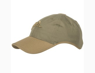 Бейсболка Logo Cap Helikon-Tex , Цвет Green/Coyote
