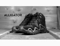 Ботинки Garsing Alligator, Цвет Black