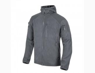 Флисовая кофта Alpha Hoodie Helikon-Tex, цвет Grey
