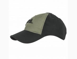 Бейсболка Logo Cap Helikon-Tex , Цвет Black/Olive