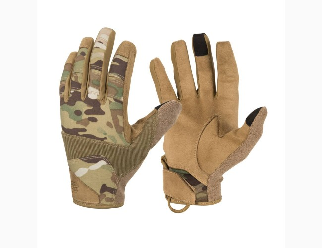 Перчатки Helikon-Tex Range Tactical Gloves, Цвет Multicam