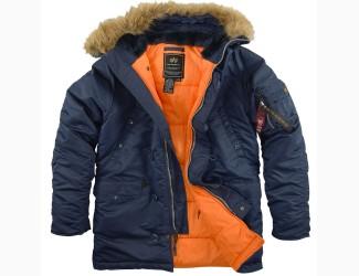 Куртка Аляска Alpha Industries N-3B, цвет Dark Blue