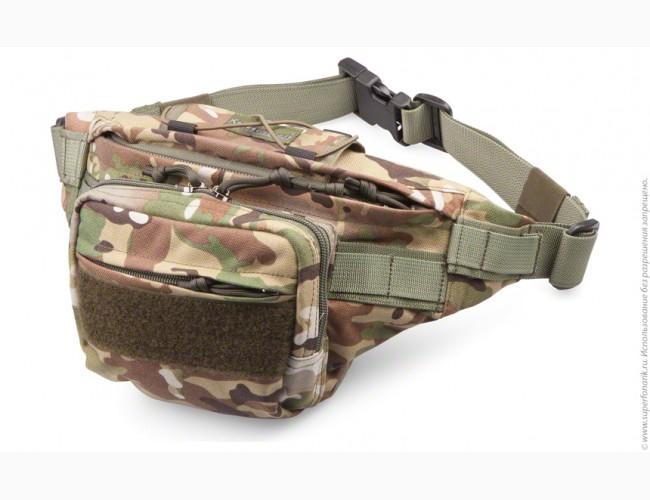 Поясная сумка multicam