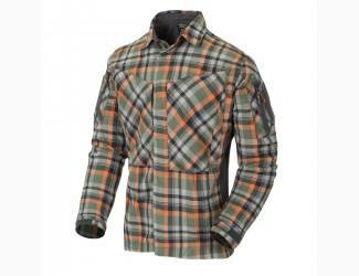 Рубашка MBDU Flannel Helikon, цвет Timber Olive Plaid