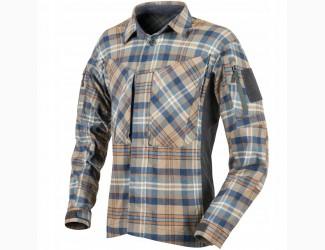 Рубашка MBDU Flannel Helikon, цвет Ginger Plaid