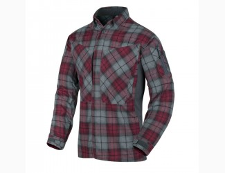 Рубашка MBDU Flannel Helikon, цвет Ruby Plaid