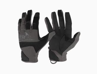 Перчатки Helikon-Tex Range Tactical Gloves, Цвет Black / Shadow Grey
