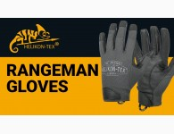 Перчатки Helikon-Tex Rangeman, цвет Shadow Grey / Black
