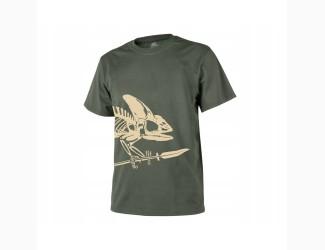 Футболка Helikon-Tex Sceleton, цвет Olive