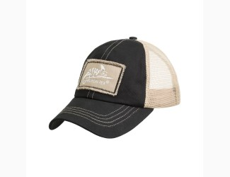 Бейсболка Trucker Helikon-Tex, цвет Black/Khaki