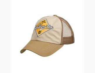 Бейсболка Trucker Helikon-Tex, цвет Khaki/Brown