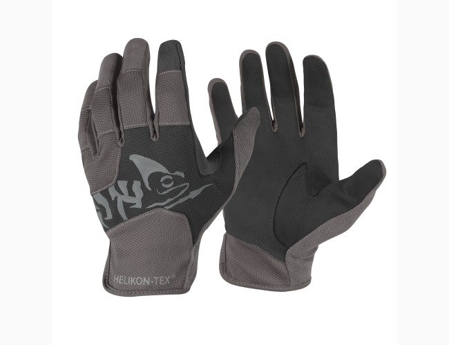 Перчатки Helikon-Tex All Round Fit, расцветка Black/Shadow Grey