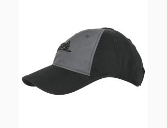 Бейсболка Logo Cap Helikon-Tex, цвет Black/Grey